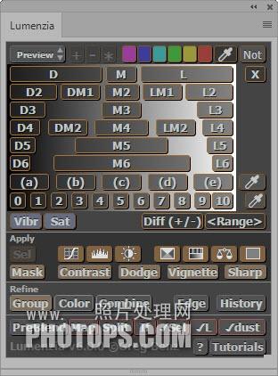 Lumenzia (亮度蒙版扩展面板) v6 0 0-英文版-PS扩展面板